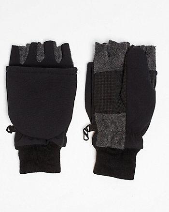 Knit Fingerless Glove