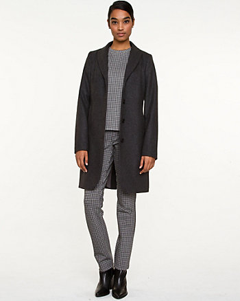 Melton Reefer Coat