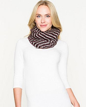 Rib Knit Infinity Scarf