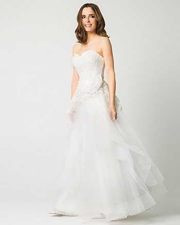 Lace Sweetheart Gown