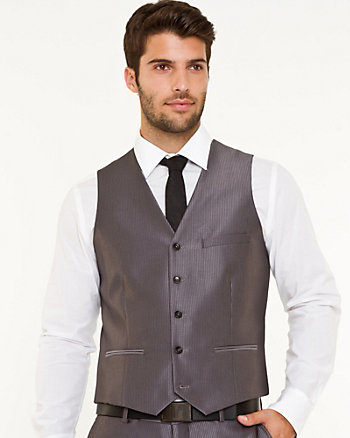 Tonal Contemporary Fit Vest