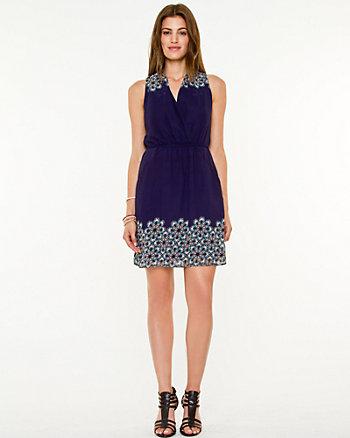 Medallion Print Sleeveless Dress