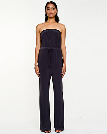 Knit Strapless Jumpsuit