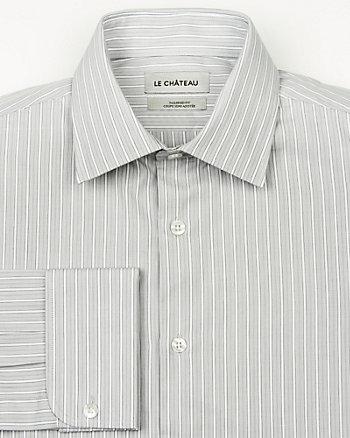 Stripe Cotton Tailored Fit Shirt