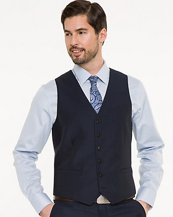 Piqué Contemporary Fit Vest