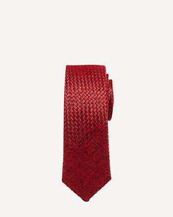 Tonal Check Tie