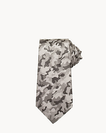 Army Print Tie