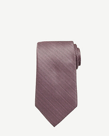 Tonal Pattern Microfibre Tie