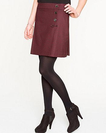 Modern Fit Check Kilt Skirt