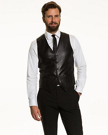 Cotton Blend Contemporary Fit Vest