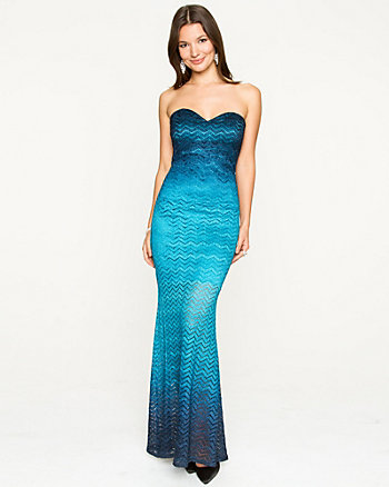 Sparkle Knit Gown