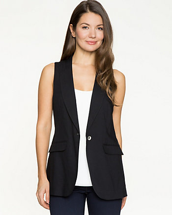 Challis Notch Collar Vest