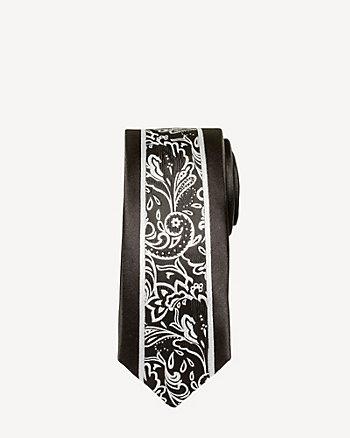 Paisley Microfibre Tie