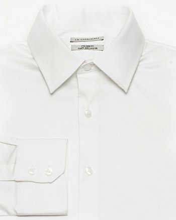 Stretch Sateen Tailored Fit Shirt