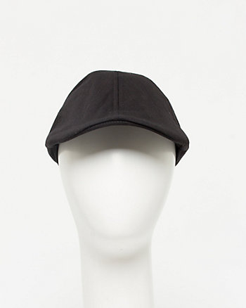 Tonal Herringbone Cotton Ivy Cap