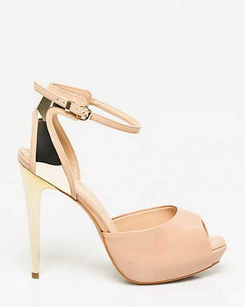 Brazilian-Made Patent Leather-Like Sandal