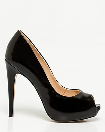 Brazilian-Made Patent Leather-Like Pump
