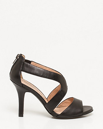 Leather Criss-Cross Sandal