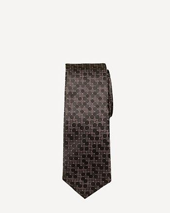 Microfibre Houndstooth Tie