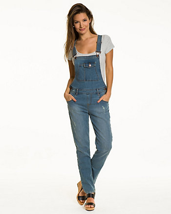 Fitted Denim Overall