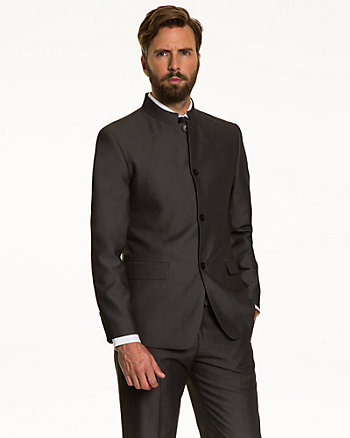 Sharkskin Contemporary Fit Blazer