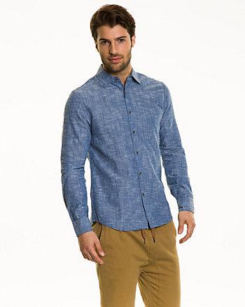 Cotton Slub Slim Fit Shirt