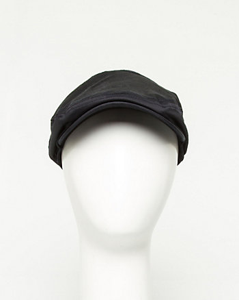 Cotton Sateen Ivy Cap