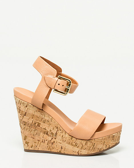 Leather ChâteauBrazilian Sandal Made Wedge Le ONknPZ80Xw