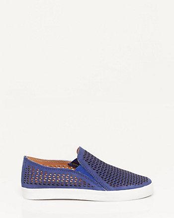 Nubuck Leather Slip-on Sneaker