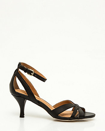 Leather d'Orsay Sandal