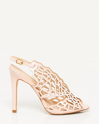 Brazilian-Made Faux Leather Cutout Sandal