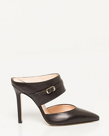 Italian-Made Pointy Toe Mule