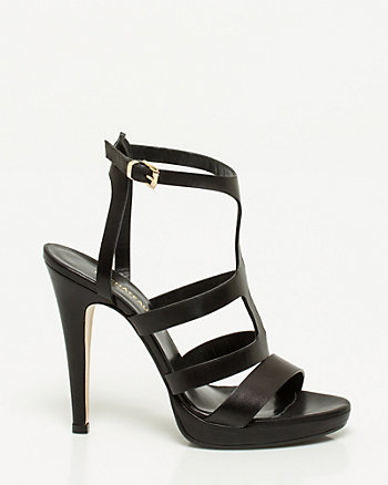Italian-Made Leather Gladiator Sandal