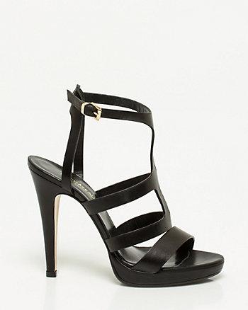 Italian-Made Leather Gladiator Sandal