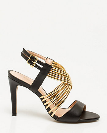 Brazilian-Made Leather-Like Sandal