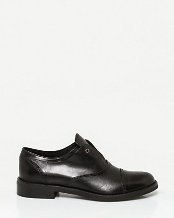 Italian-Made Leather Oxford