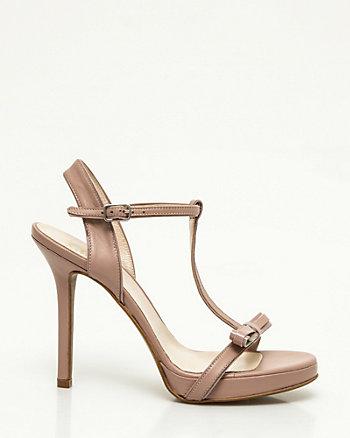 Sandale de cuir faite en Italie