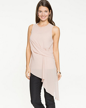 Chiffon Asymmetrical Top