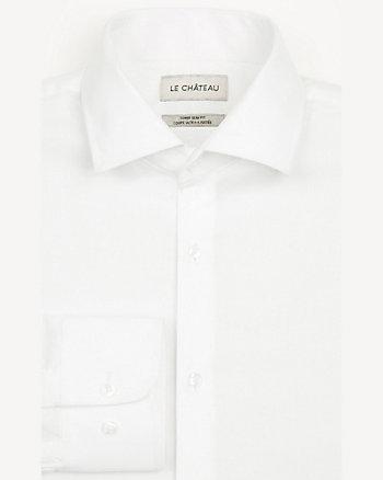 Cotton Piqué Slim Fit Shirt