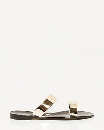 Jelly Double Band Sandal