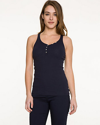 Essential Rib Cotton Tank