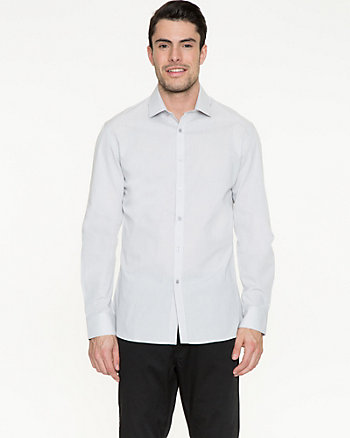 Iridescent Cotton Tailored Fit Shirt