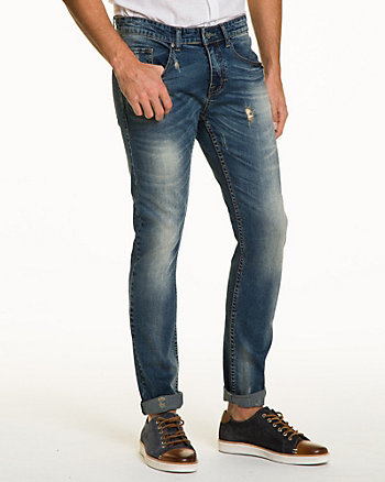 Stretch Denim Super Slim Leg Pant