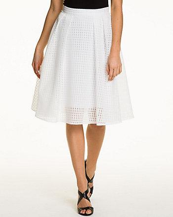 Organza Flare Skirt