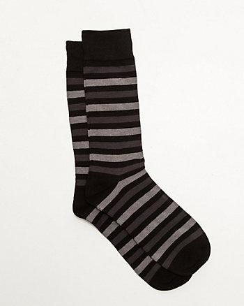 Stripe Bamboo Blend Socks