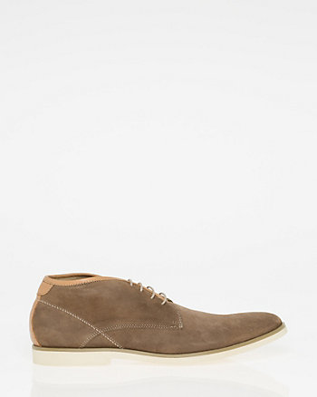 Suede Almond Toe Desert Boot