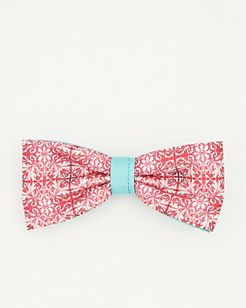 Printed Woven Bow Tie