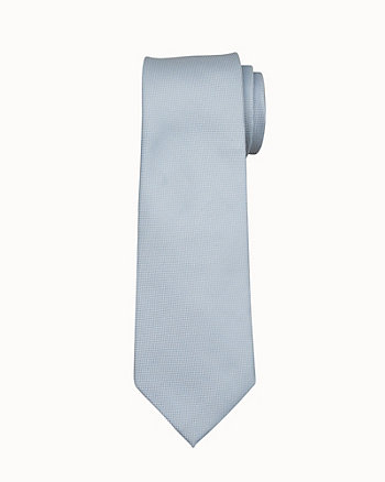 Two-Tone Silk Piqué Tie