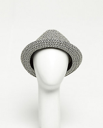 Paper Two-tone Fedora