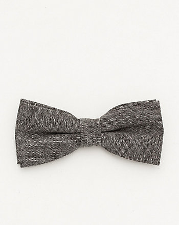Linen Blend Bow Tie